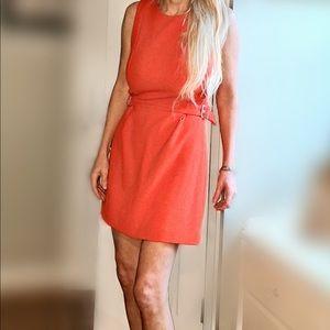 Trafaluc-Zara Australia Orange Mini Dress SZ M NWT